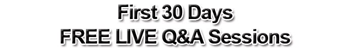 Free LIVE Q and A
