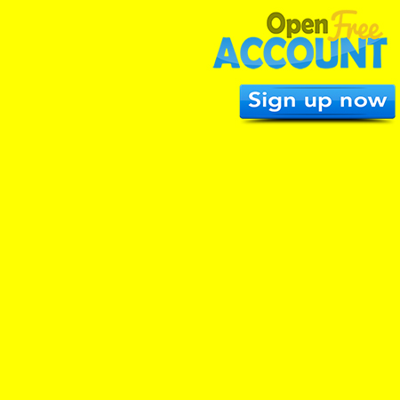 Corner Page 450×450 FREE Account Yellow